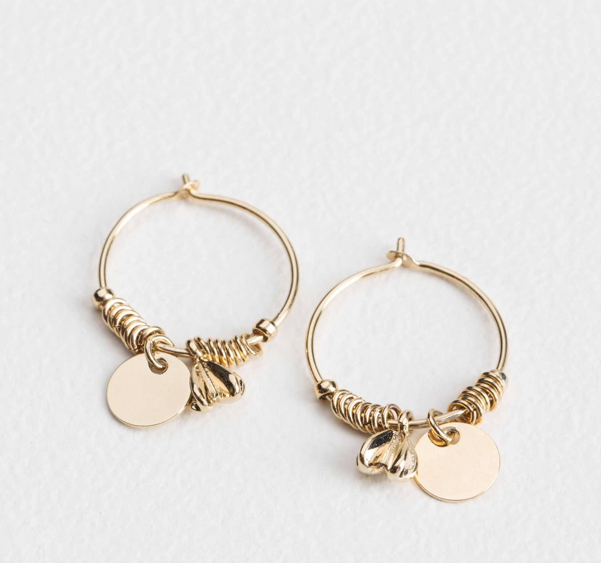 & Other Stories Ornament Hoops £13