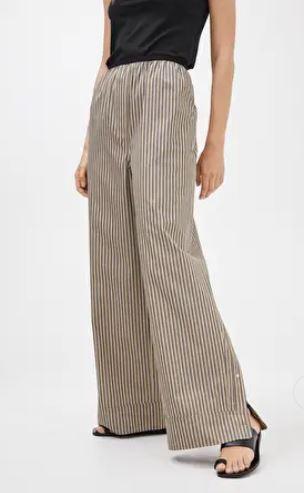 Arket Striped Cotton trousers £69