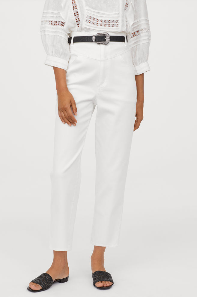H&M Ankle length Twill trousers £24.99