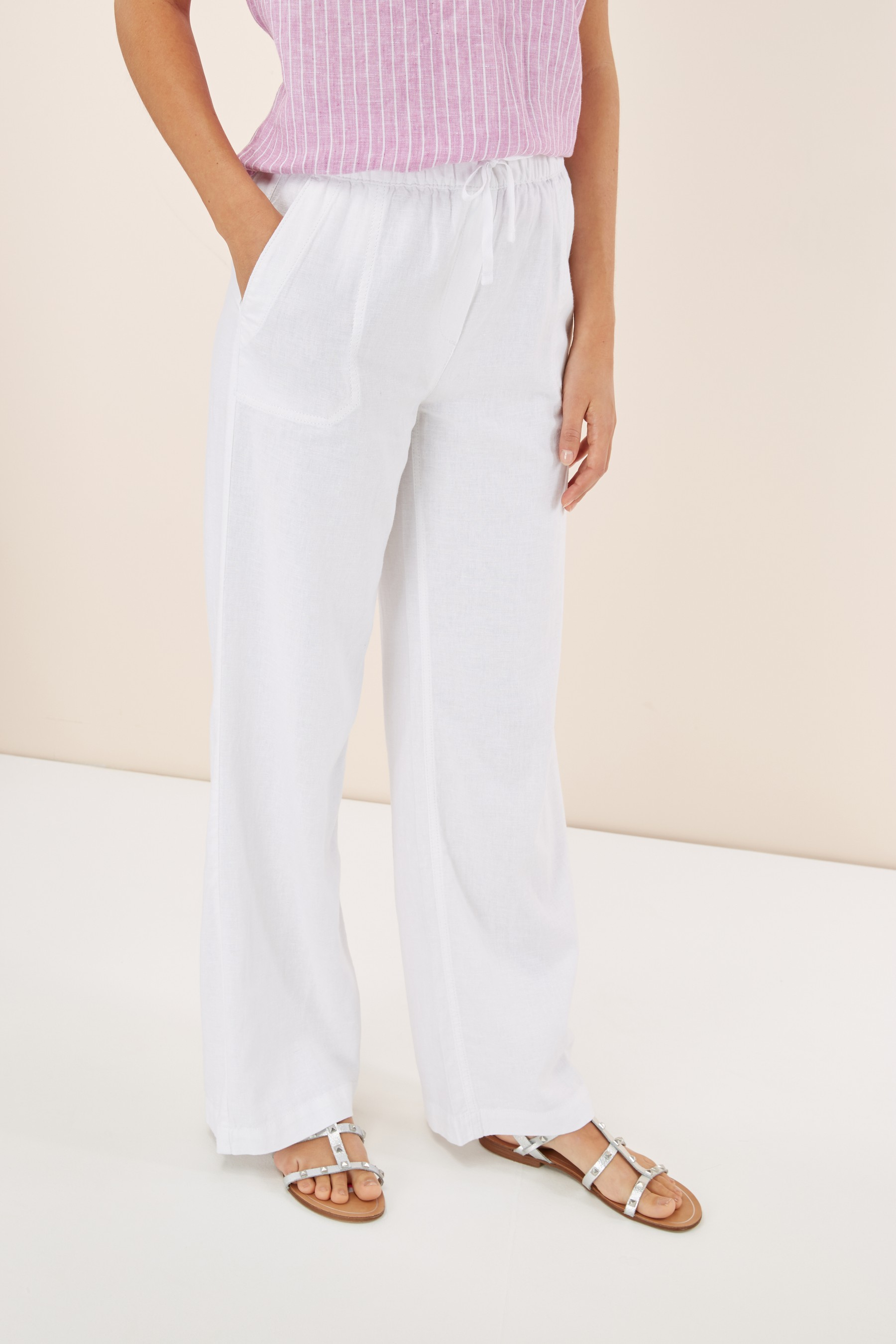 Next Linen Blend trousers £24