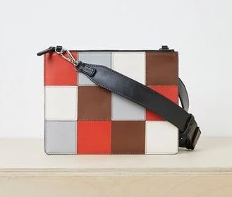 French Connection Metz Leather Patchwork Shoulder bag £39, was £90