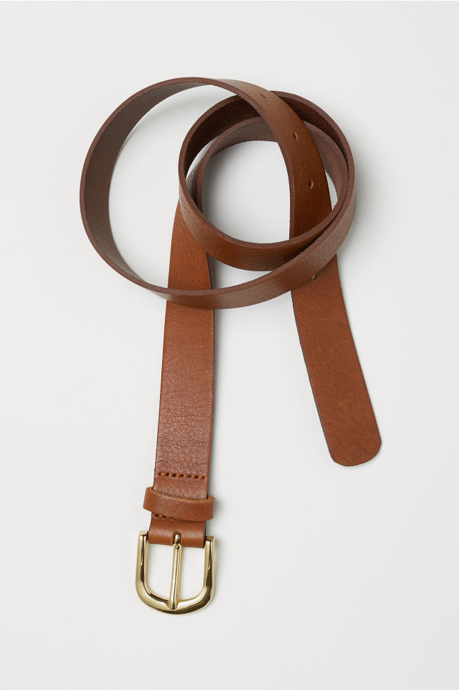 H&M Dark Brown Leather Belt £12.99