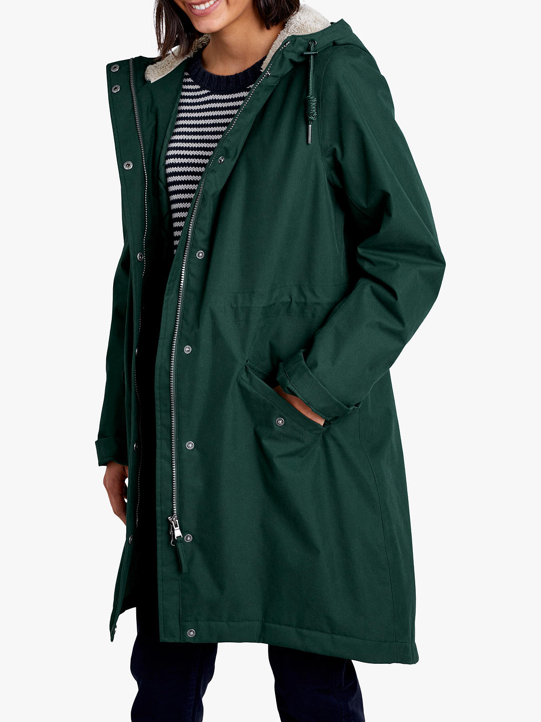John Lewis Seasalt Plant Hunter Raincoat £150
