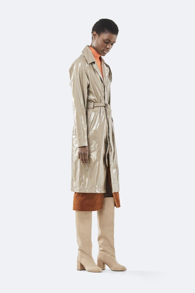 Rains Holographic Overcoat £139