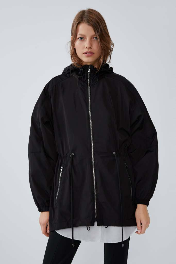 Zara Packable raincoat £29.99