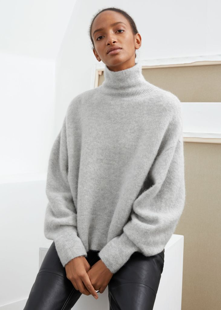 & Other Stories Soft Wool Turtleneck Sweater £75