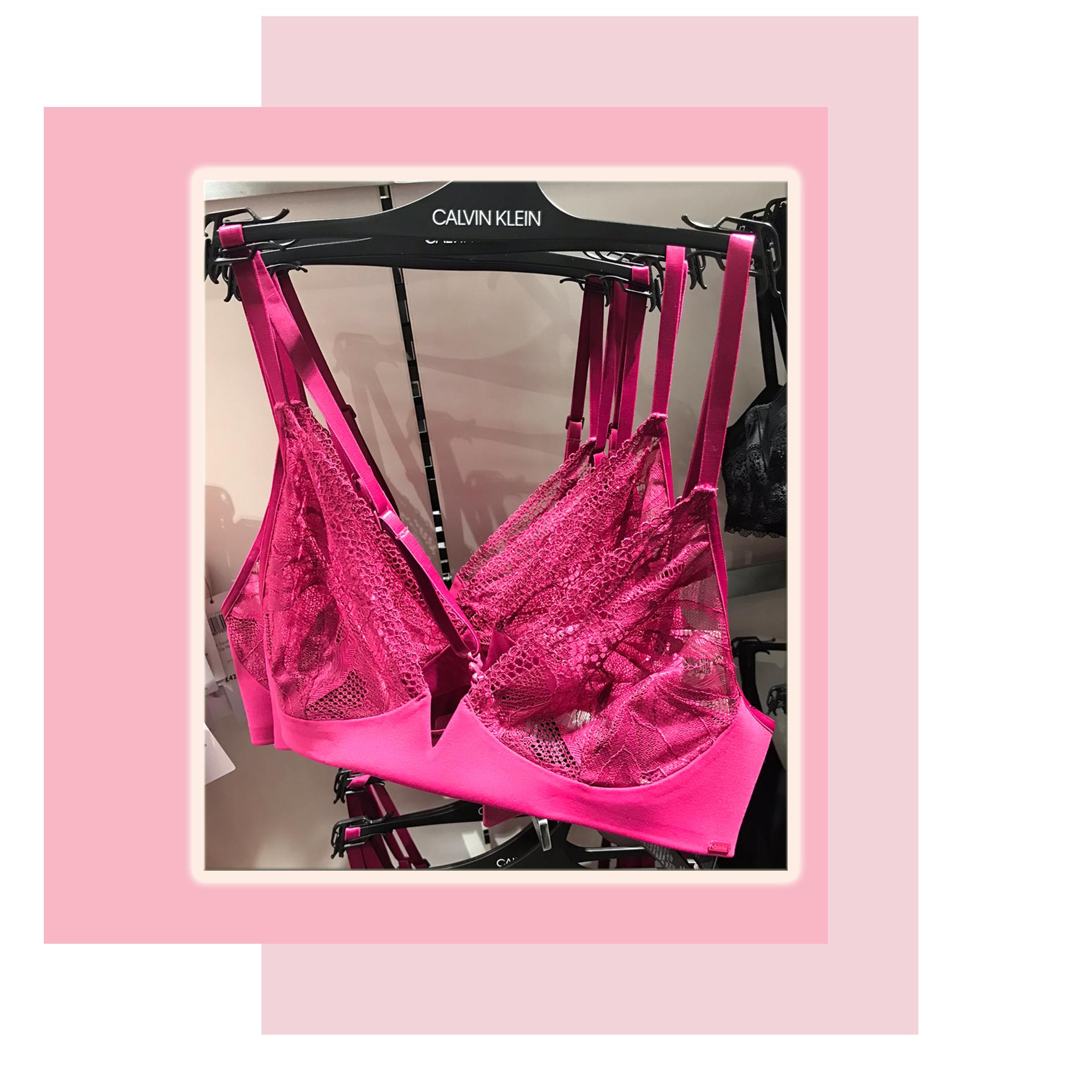 Calvin Klein Petal Lace bra £48