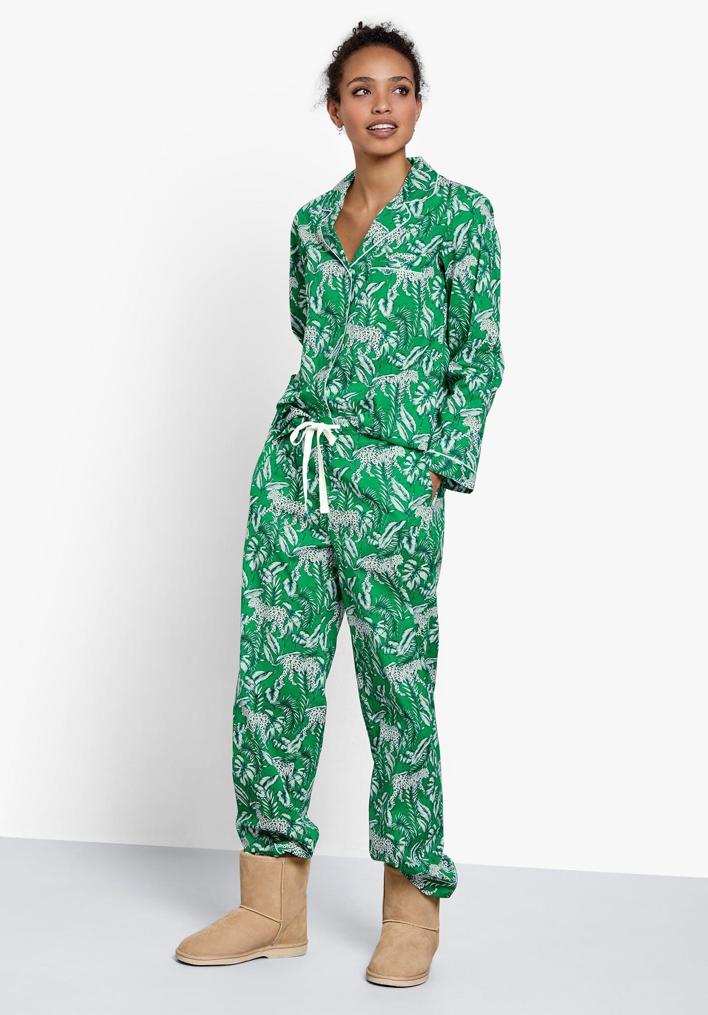 Hush Lightweight Piped Cotton Pyjamas £55