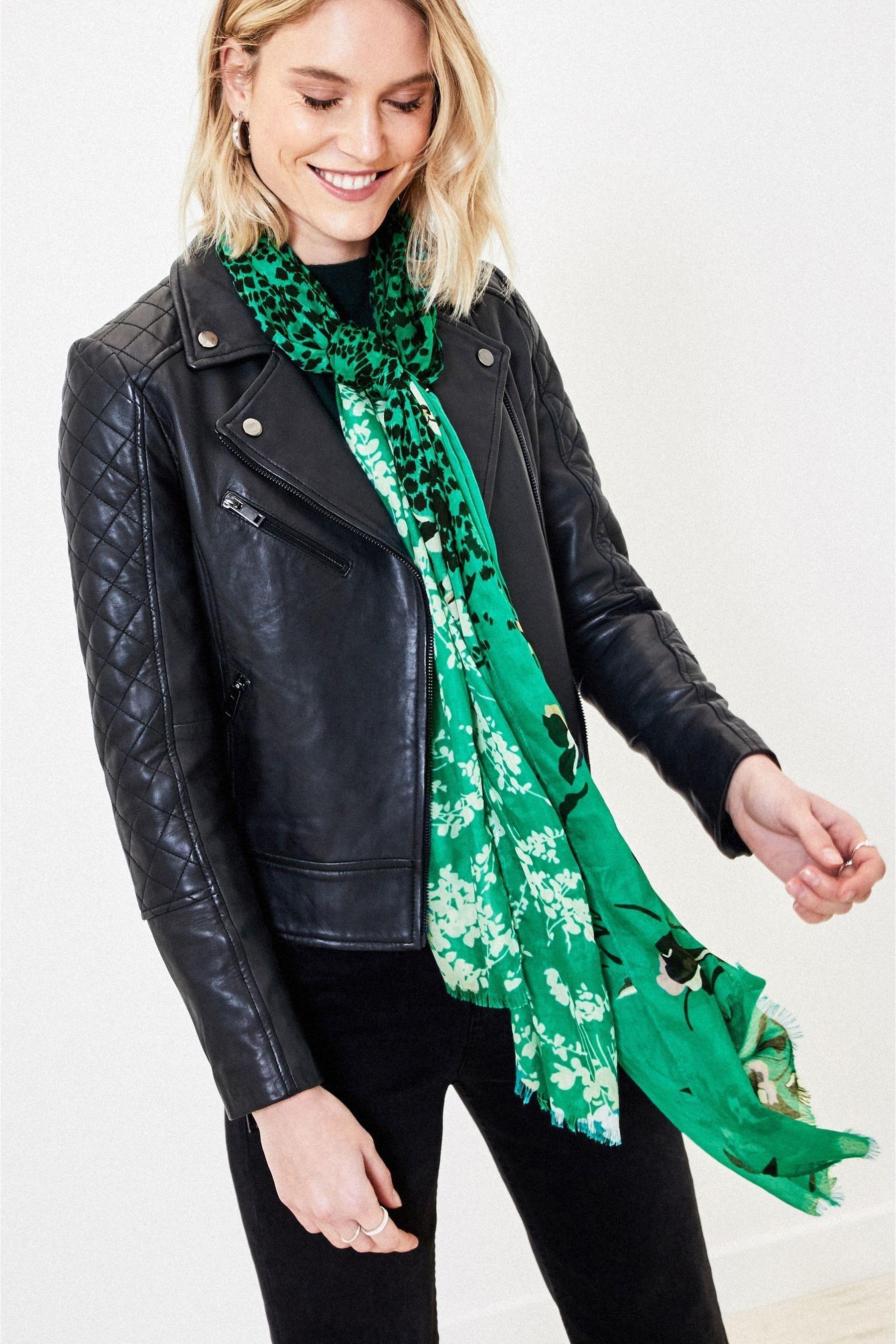 Oasis Green Merci scarf £16
