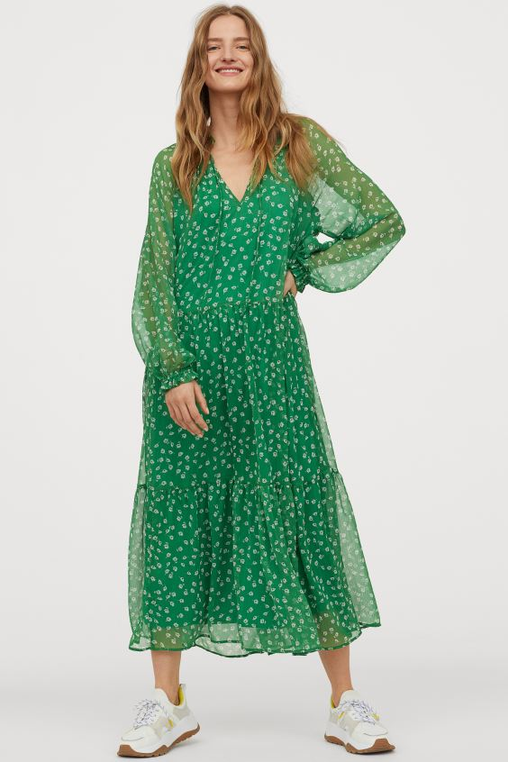 H&M Chiffon Dress £34.99