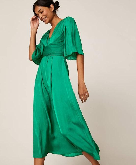 Oysho Satin-finish dress £39.99