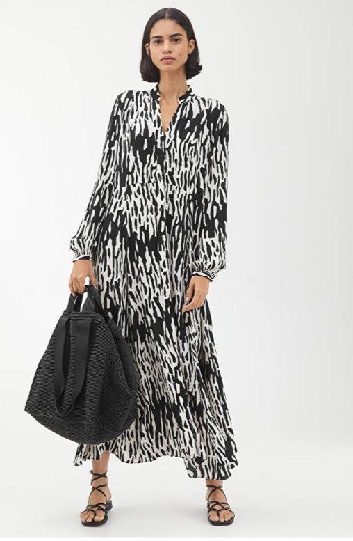 Arket Long Silky dress £125