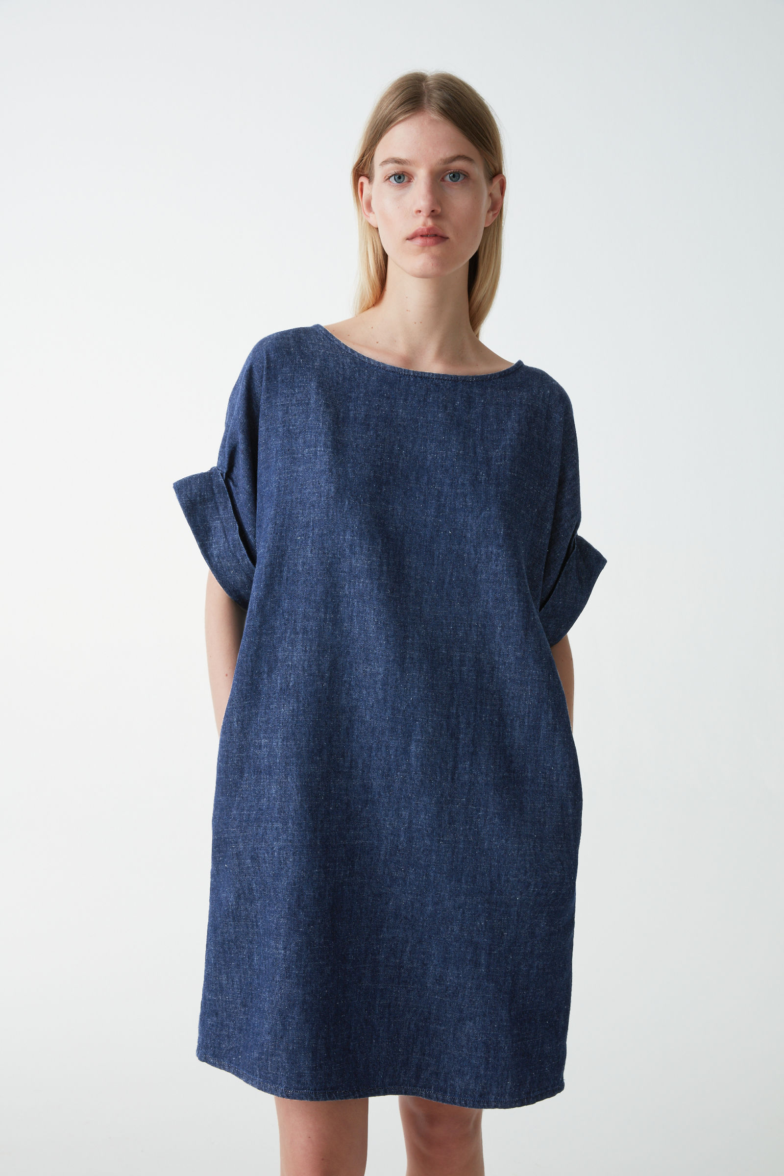 Cos Organic Cotton-Hemp Dress £48.30, was £69