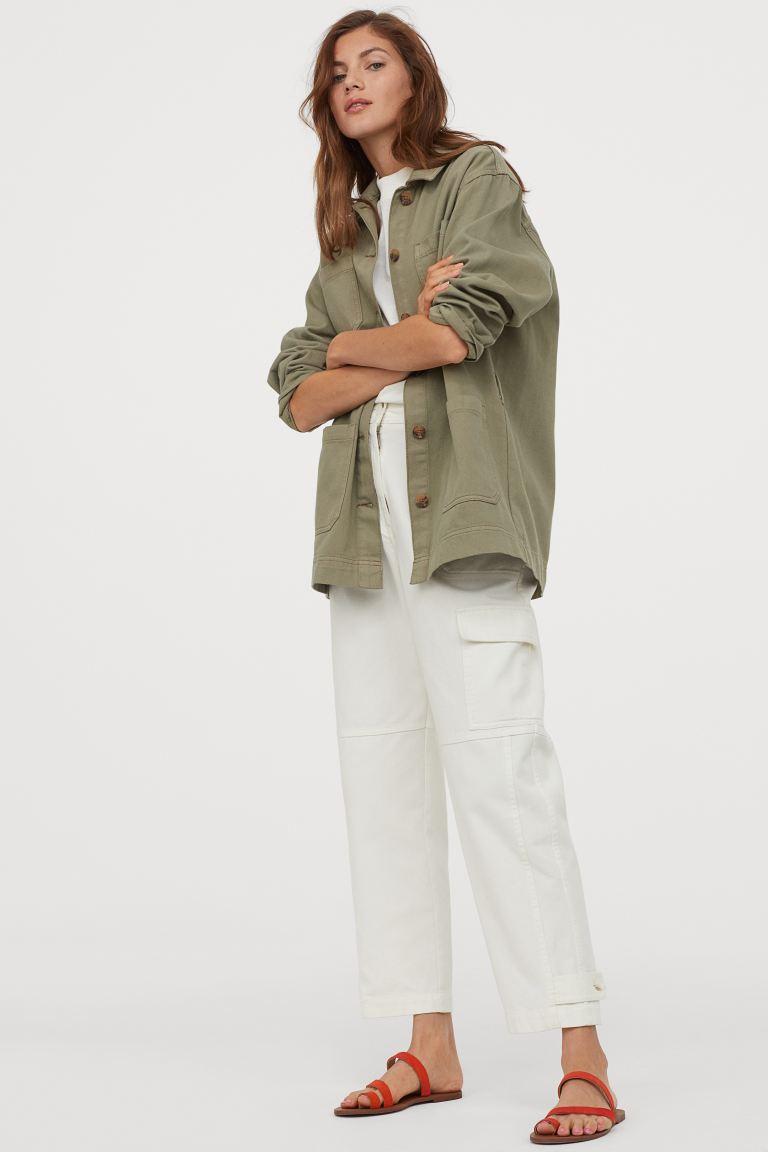 H&M Tie-belt utility Jacket £29.99