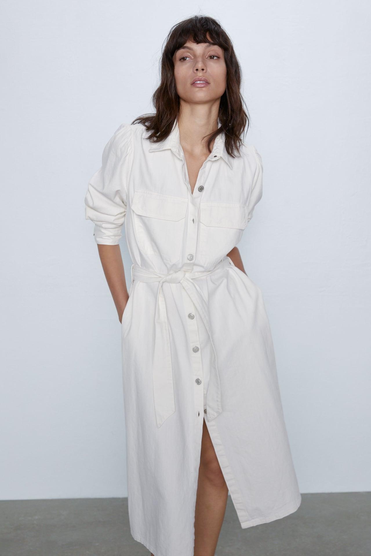 Zara Denim Midi Dress £49.99