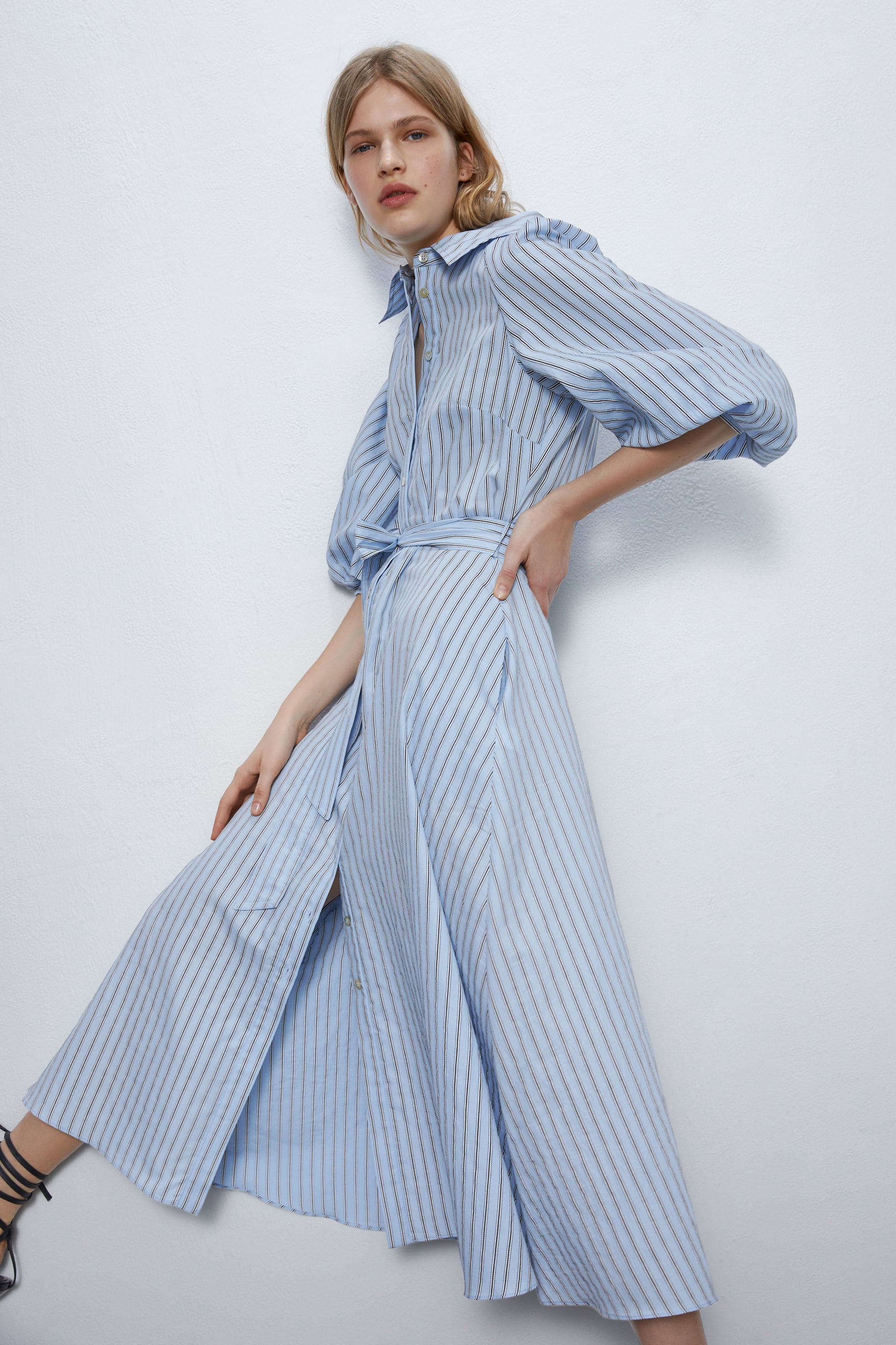 Zara Striped Shirt Dress £59.99