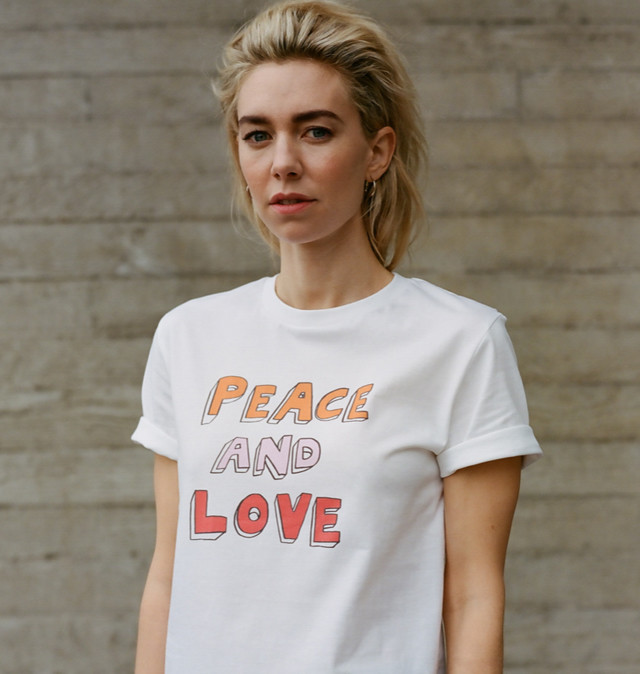 Bella Freud Peace & Love T-shirt £25