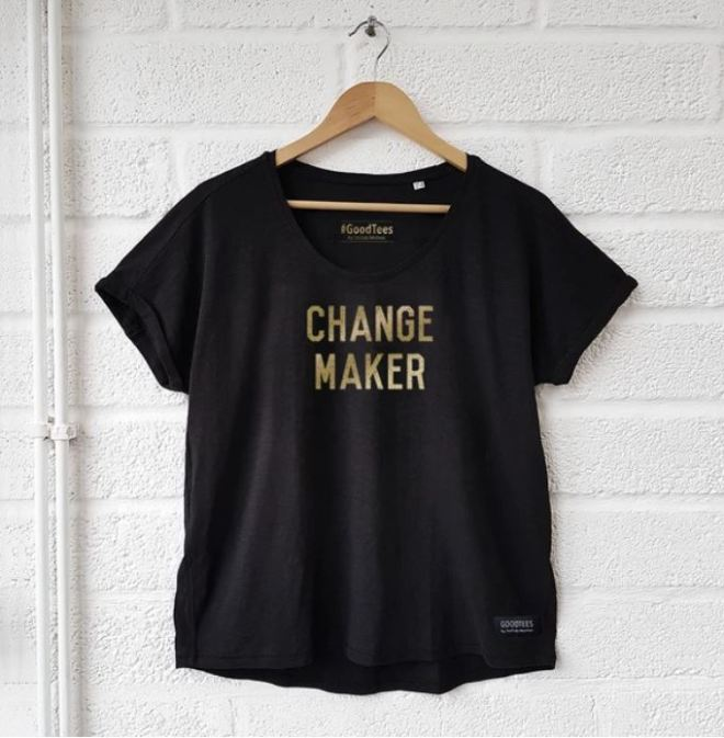 Selfish Mother Change Maker Women's T-shirt £35