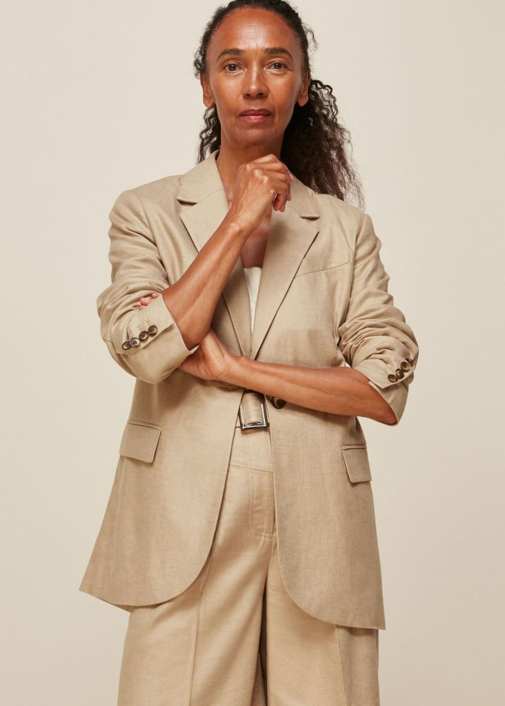 Whistles Tailored Neutral jacket £119.20