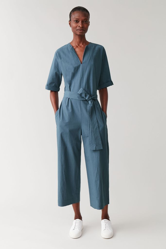 Cos belted jumpsuit with v-neck £89