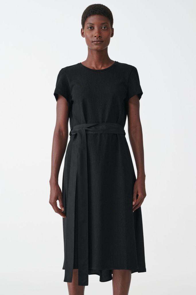 Cos Mulberry silk dress £89