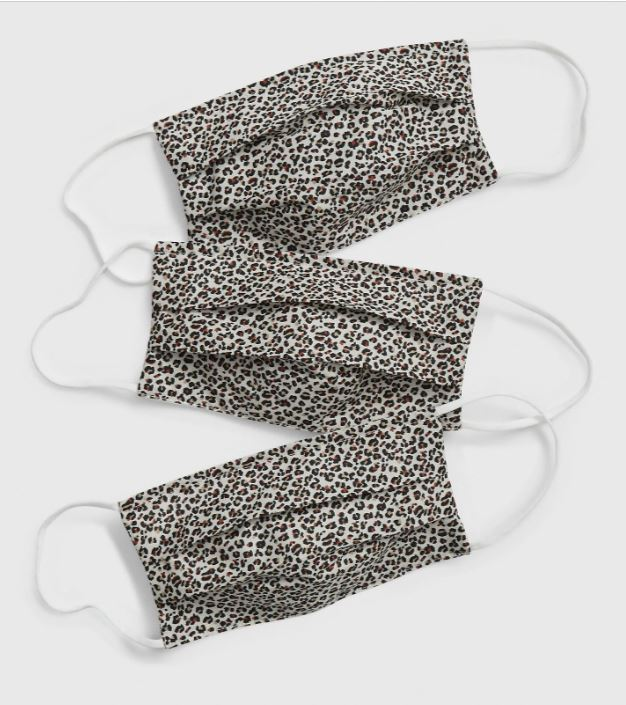 Gap Leopard print masks £12.95