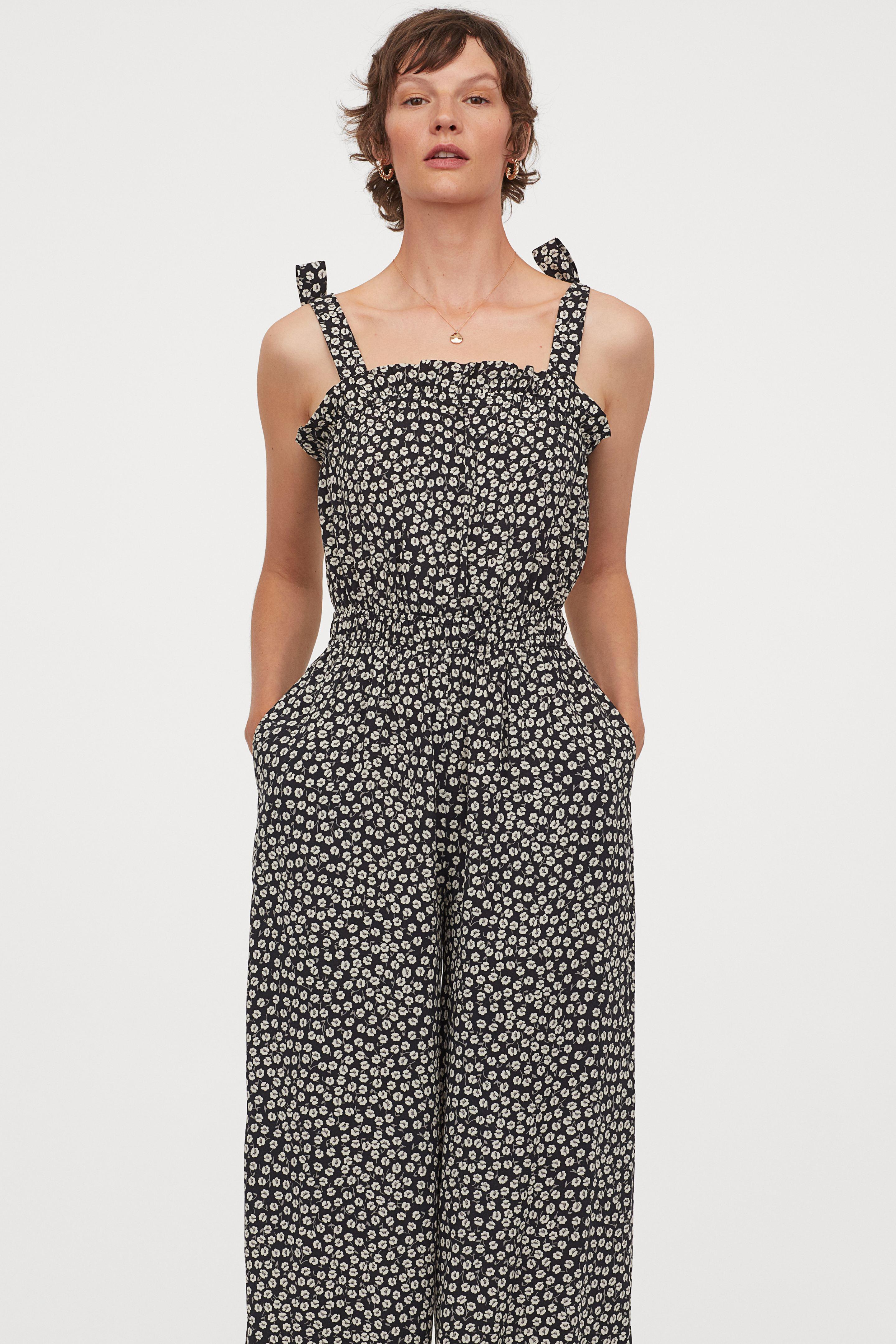 H&M Frill-trimmed jumpsuit £19.99