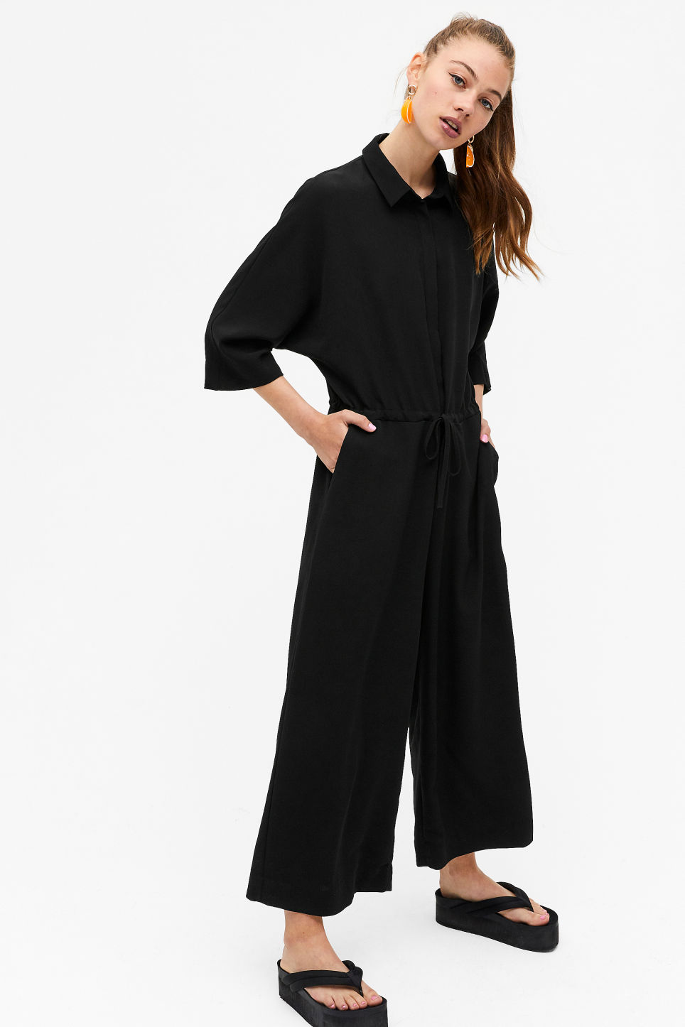 Monki Wide fitting jumpsuit £35