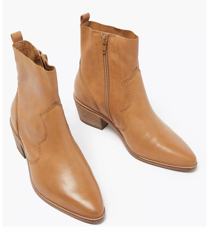 M&S Leather Boots £55