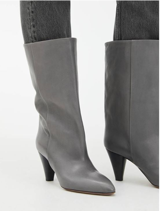 Arket Mid-High Wide Shaft Boots £225