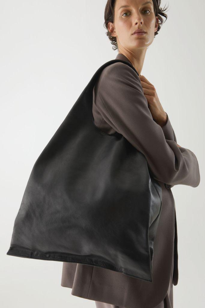 Cos Folded Leather Shoulder bag £180