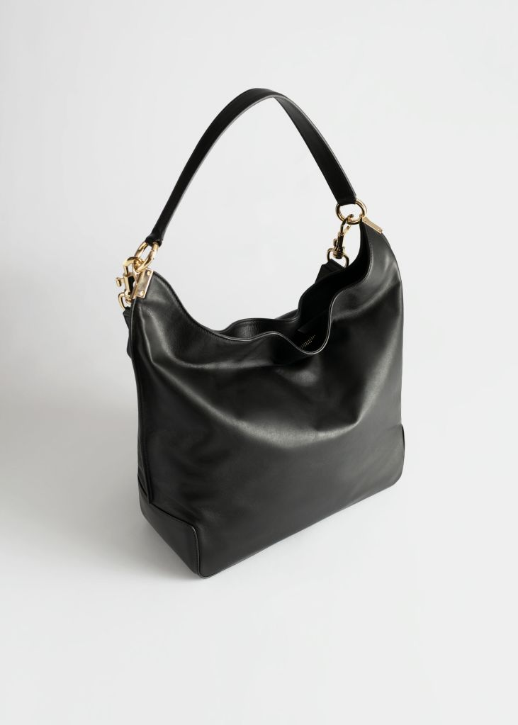 & Other Stories Slouchy duo strap leather bag £165