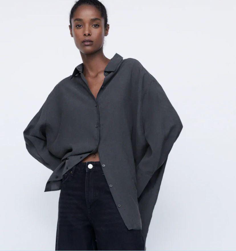 Zara Oversized shirt TRF £25.99