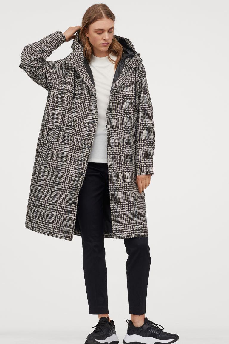 H&M Hooded rain Coat £34.99