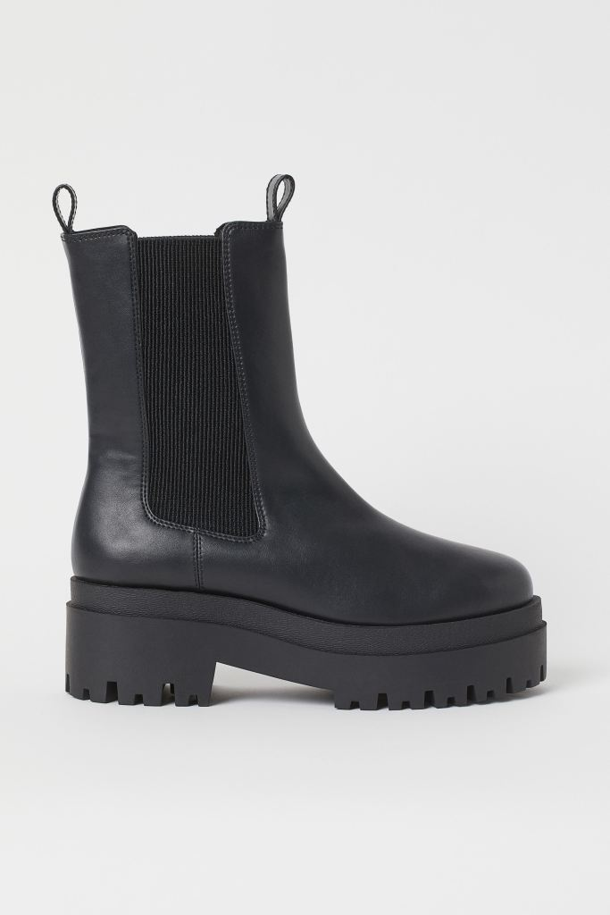 H&M Platform Chelsea Boot £29.99