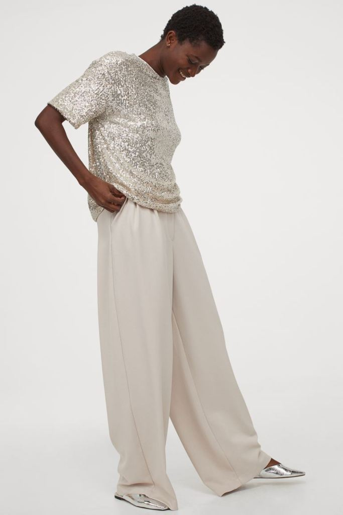 H&M Sequined Top £17.99