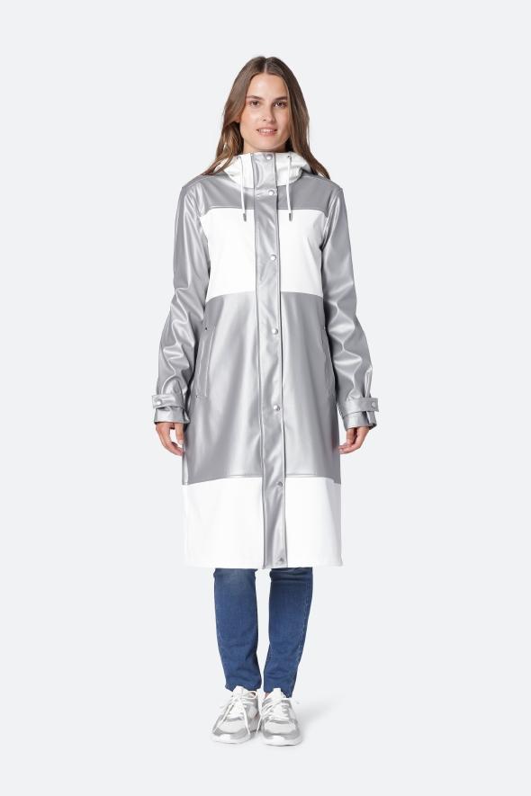Isle Jacobsen Grey Raincoat £160