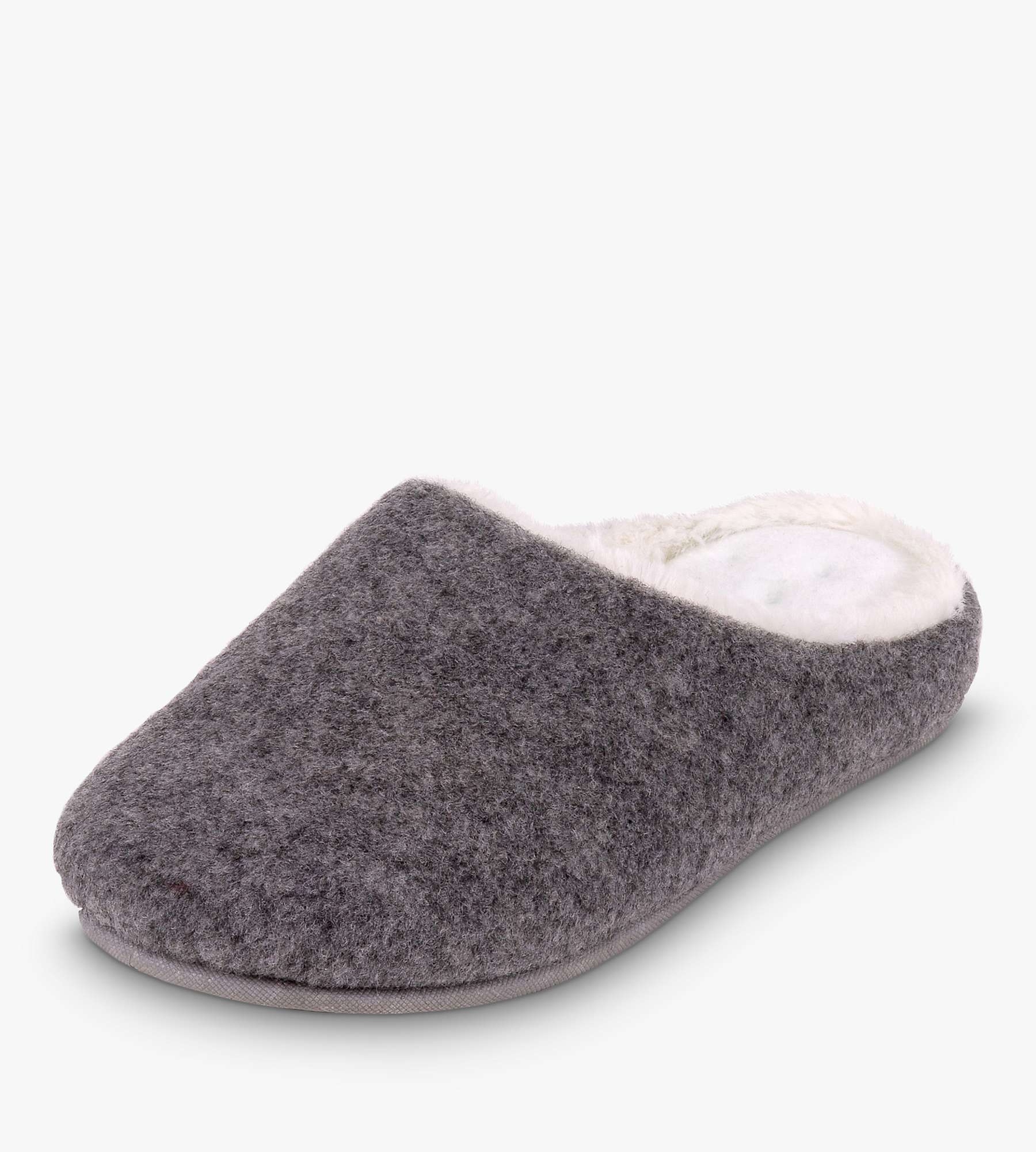 John Lewis & Partners Totes Fur Lined Clog slippers £24