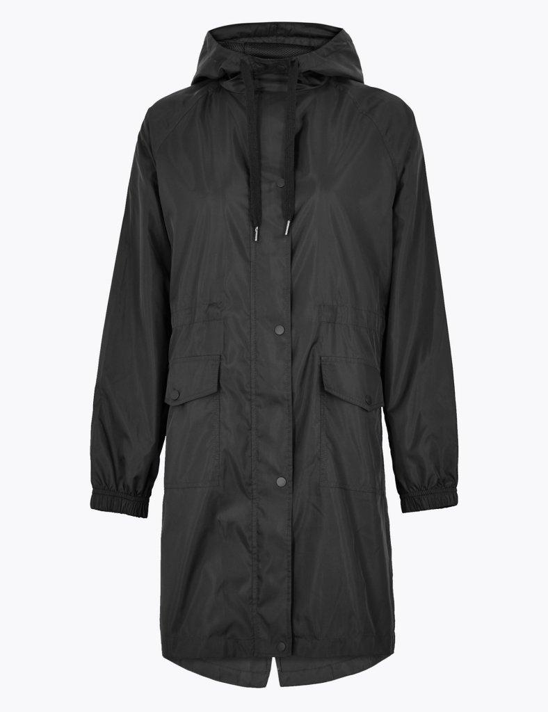 M&S Lightweight pack away parka jacket £29.50