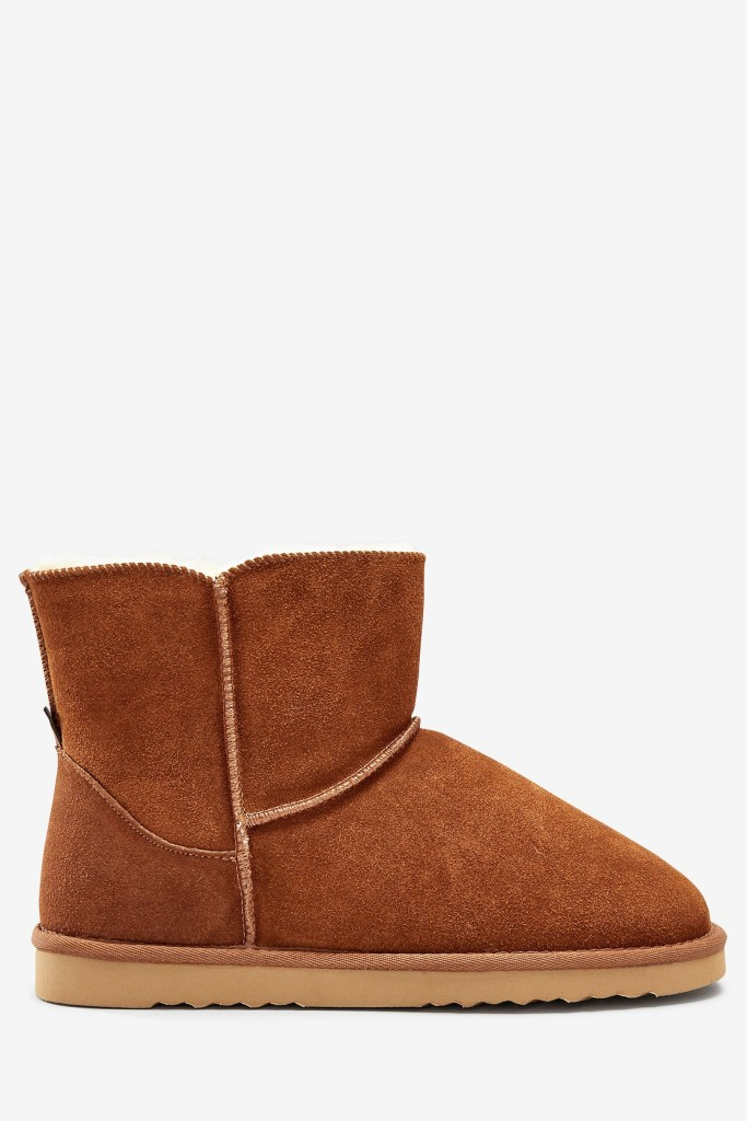 Next Suede Slipper Boots £30