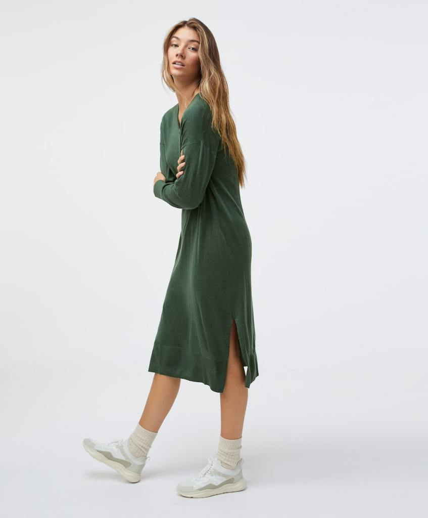 Oysho Fine Knit midi dress £39.99