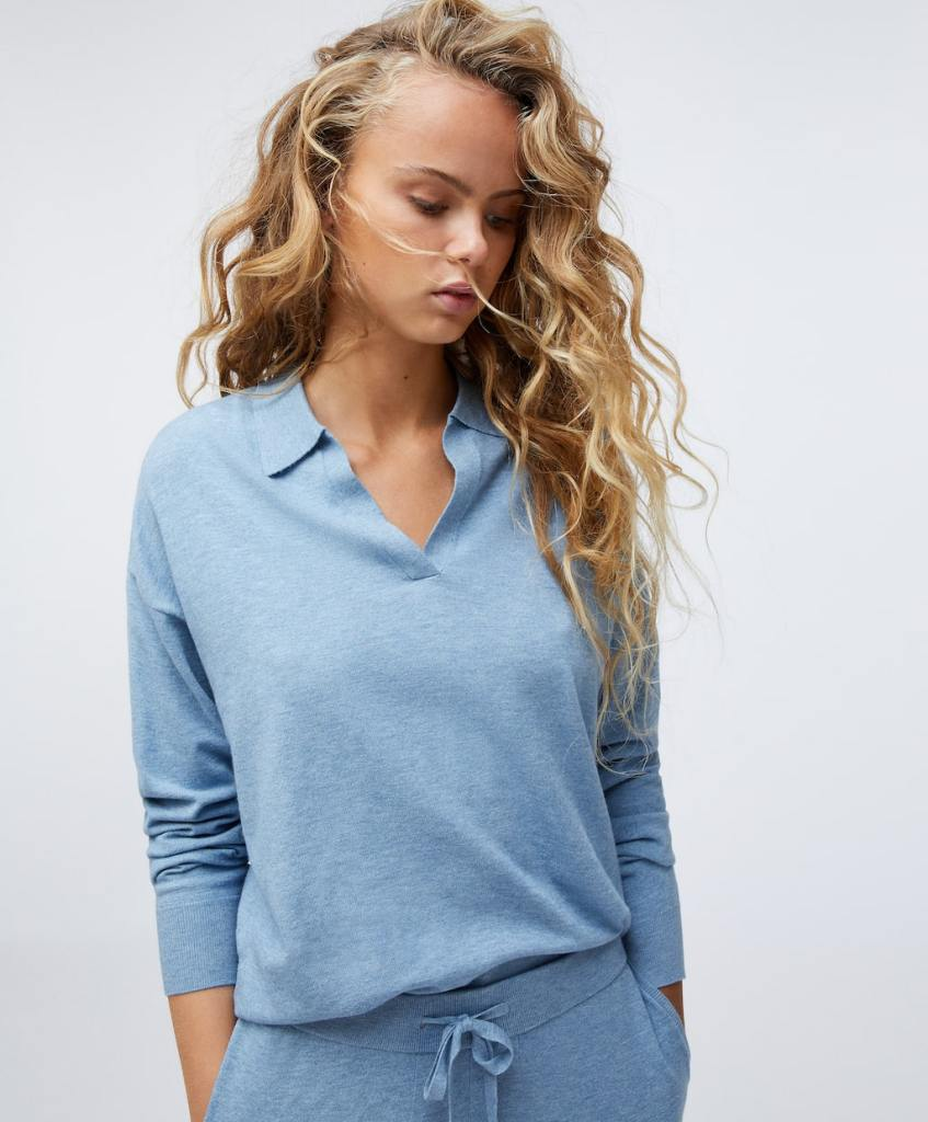 Oysho Fine Knit Polo jumper £35.99