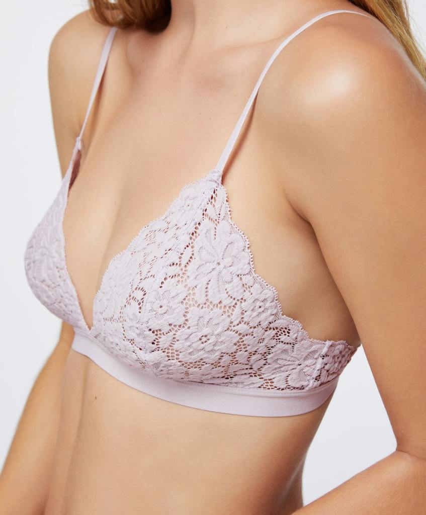 Oysho Lace Triangle Bra £15.99