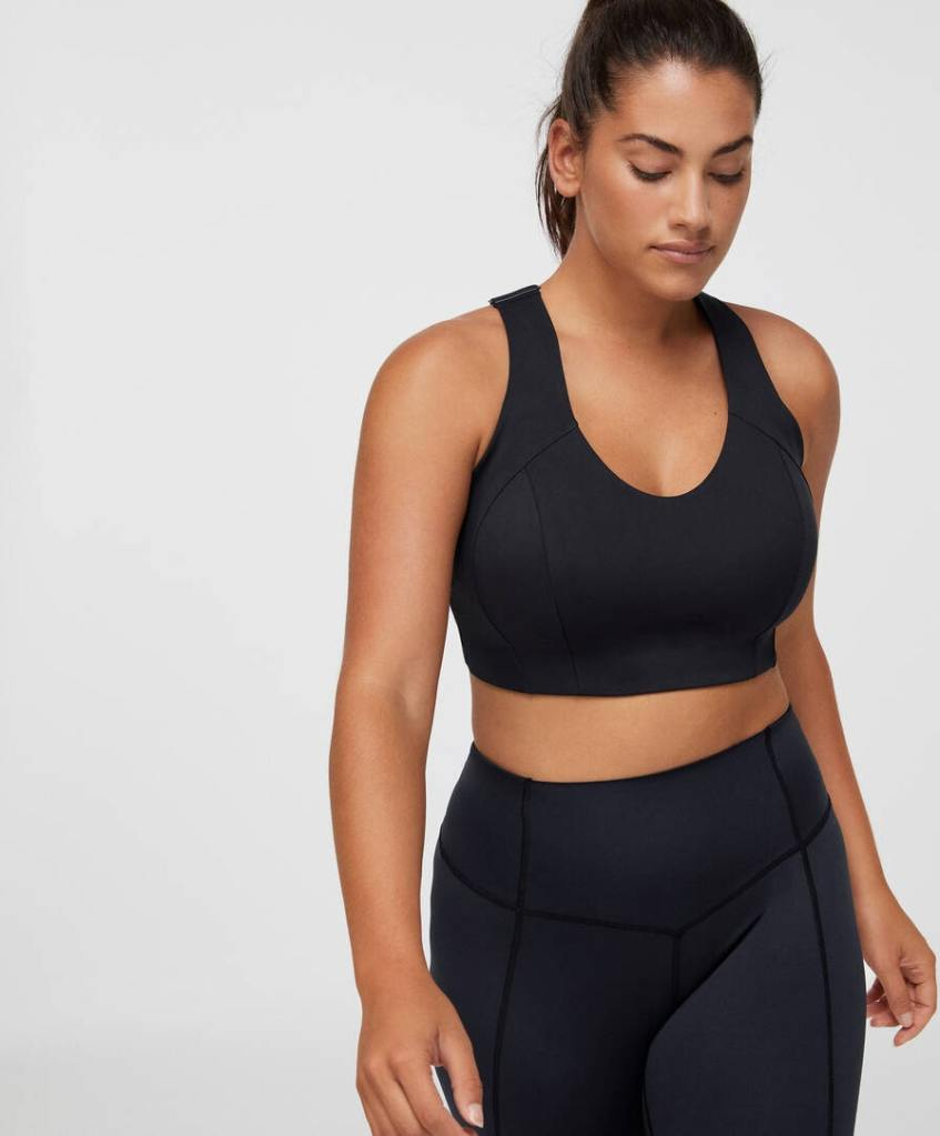 Plus Size sports bra £35.99