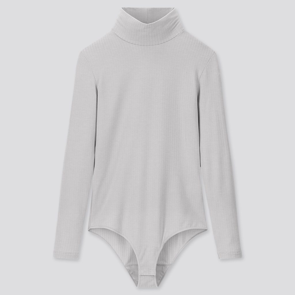 Uniqlo Heattech extra warm ribbed high neck thermal bodysuit £25.99
