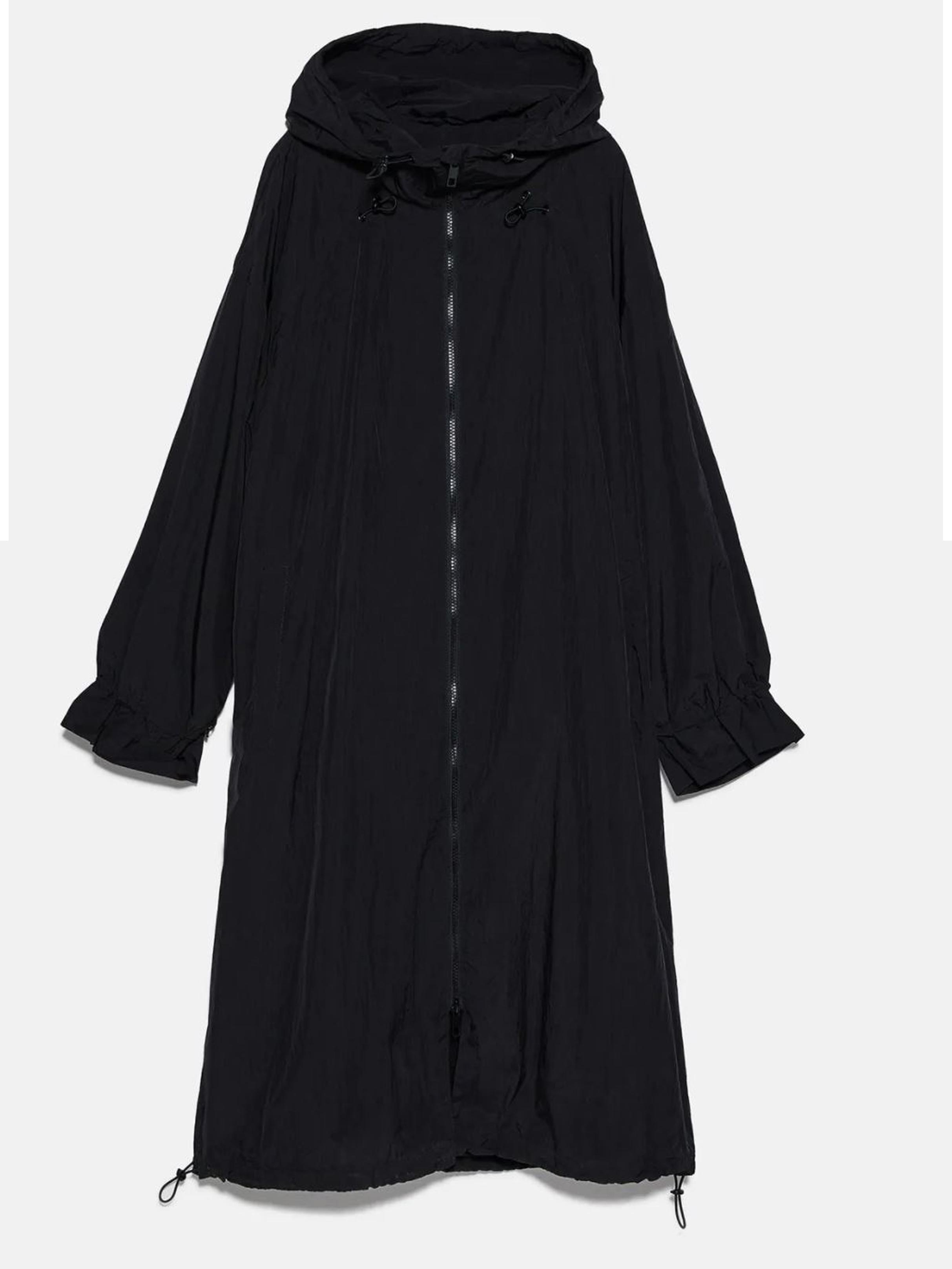 Zara Foldaway Water-Repellant Raincoat £49