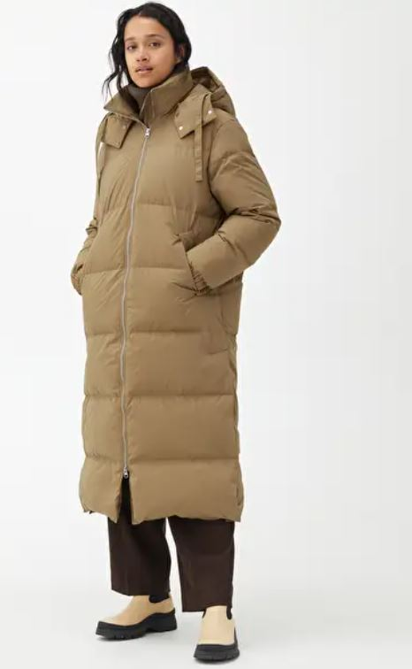 Arket Long Down Puffer Coat £225