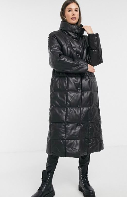 Asos Design TALL Longline Square quilt coat £56.25, was £75
