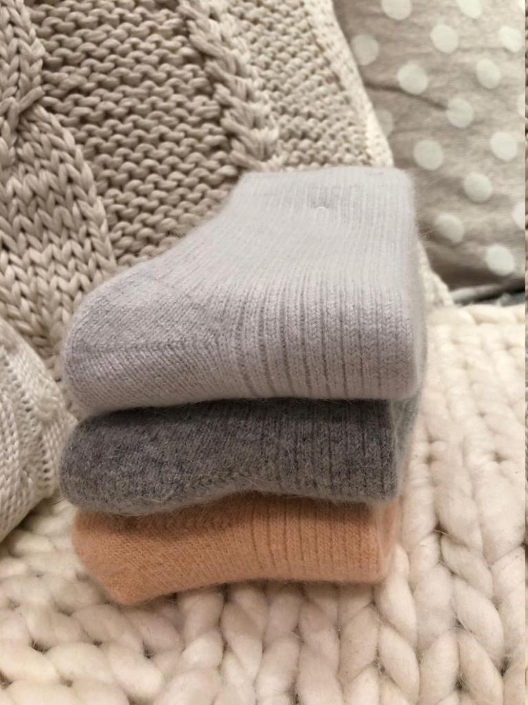 Brave Girl Shop Luxurious Wool Cashmere sock £14.99