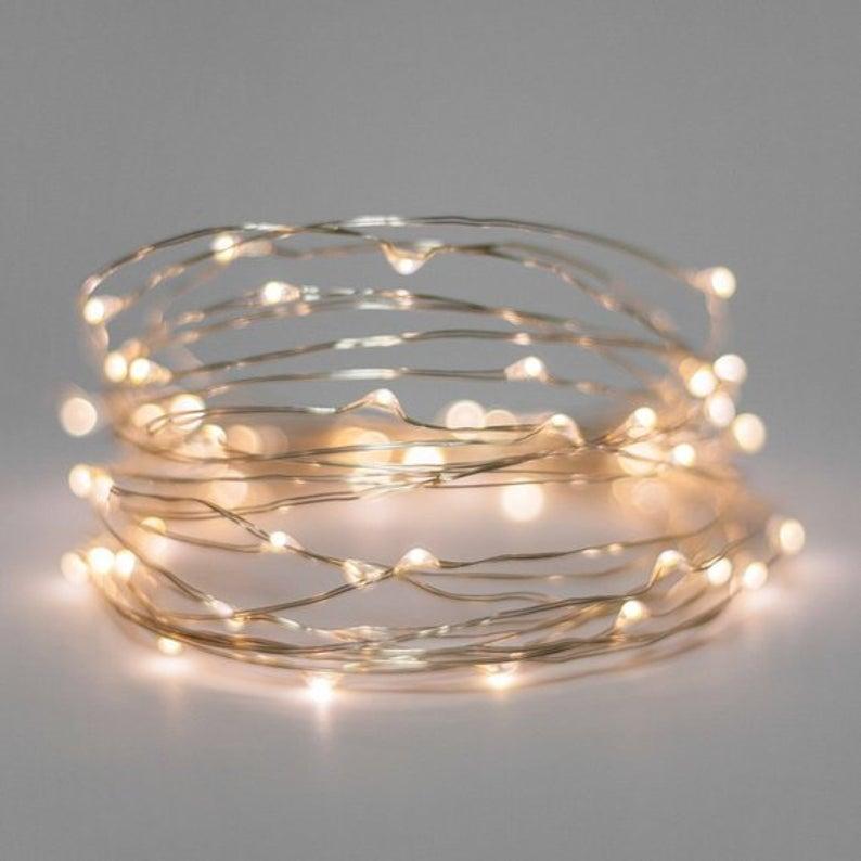 Global Forager Fairy Light String 5-10m battery lights £7.85